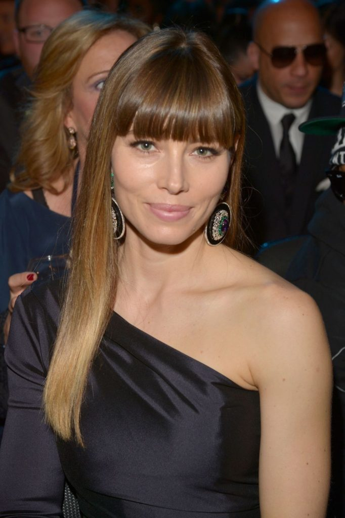Cropped Bangs and Sleek Straight Strands