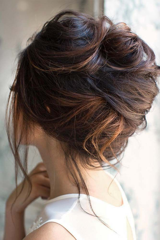 Messy Updo for Long Hair
