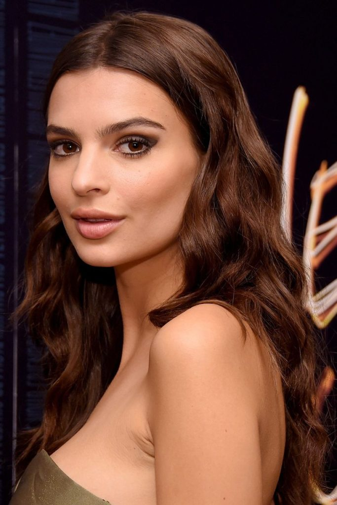 Dark Brunette Long Hairstyle with Waves