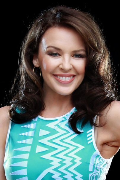 Side Swept Curls for Brunette Hair