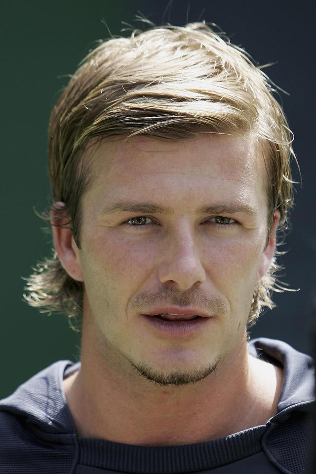 David Beckham Mullet Hairstyle