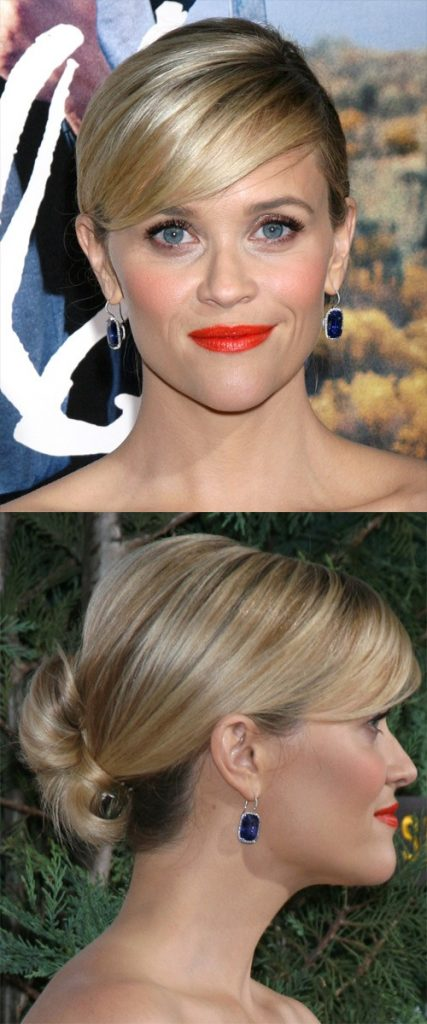 Blonde Updo for Long Hair