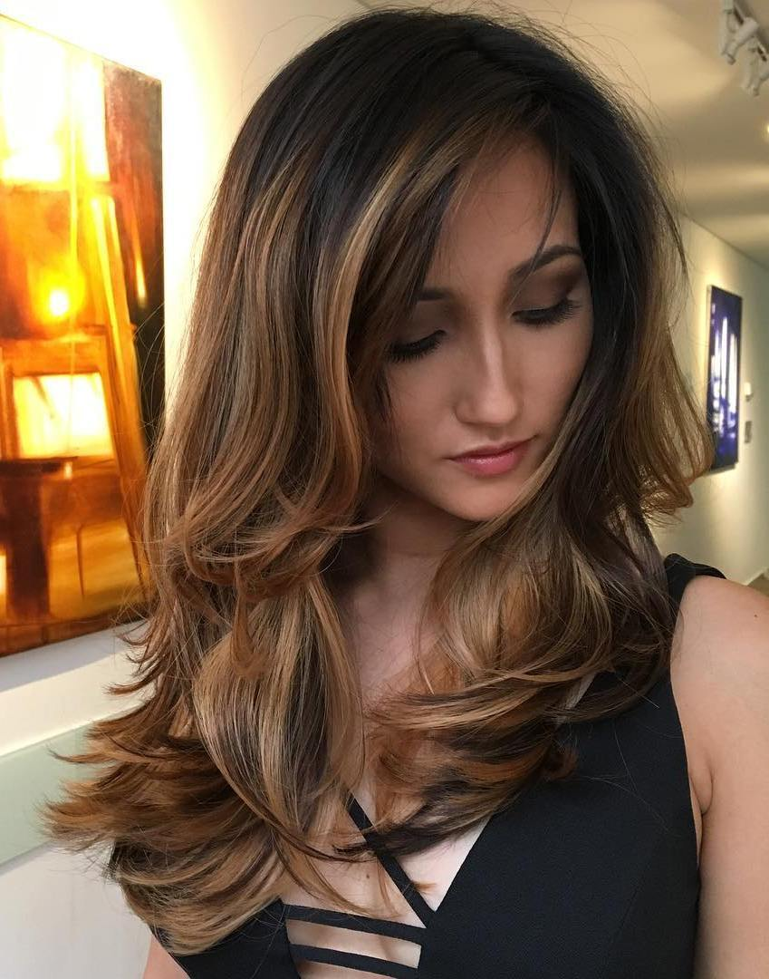 15 long hairstyles for thick hair to look attractive - haircuts