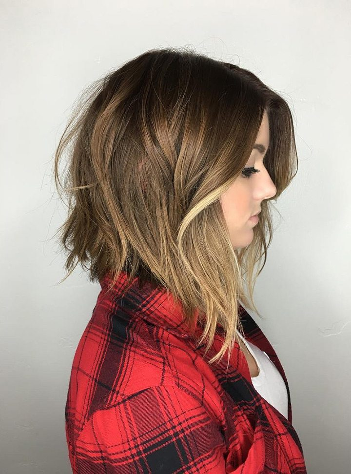 Inverted Choppy Bob