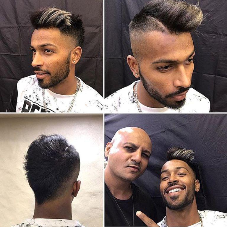 High Fade Funky Haircut