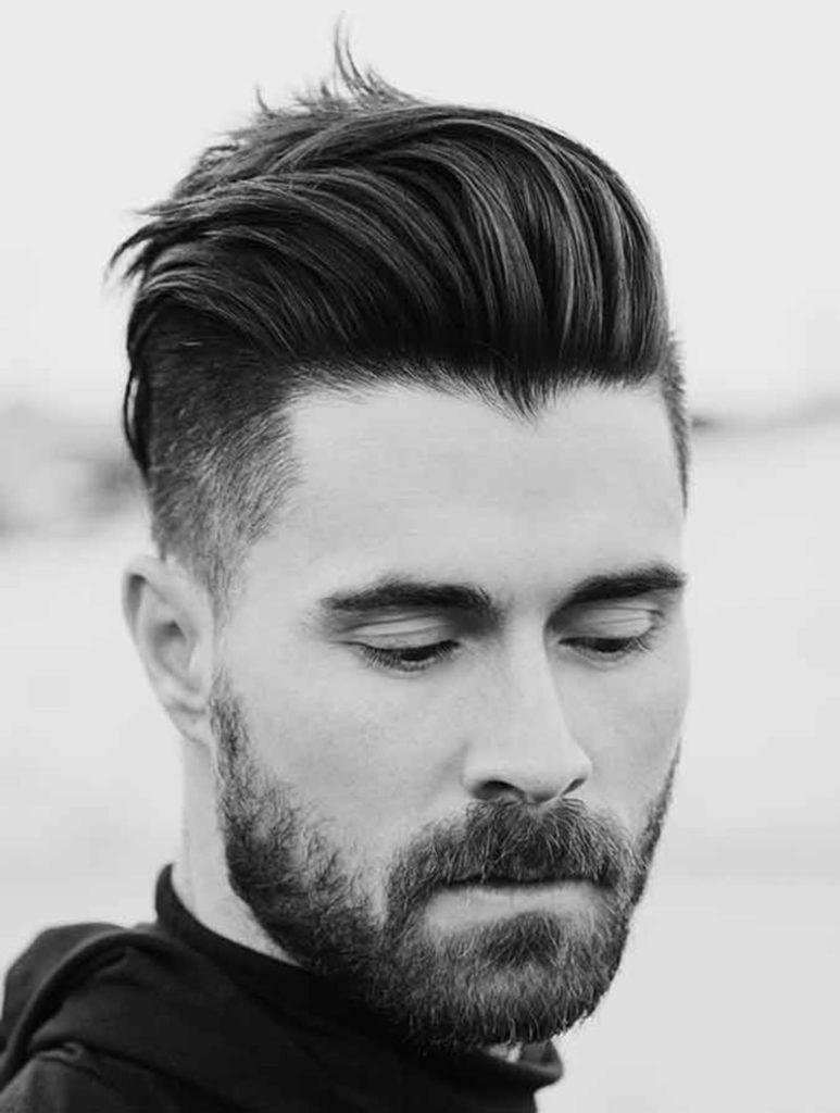15 men's hairstyles for round faces - haircuts & hairstyles 2018