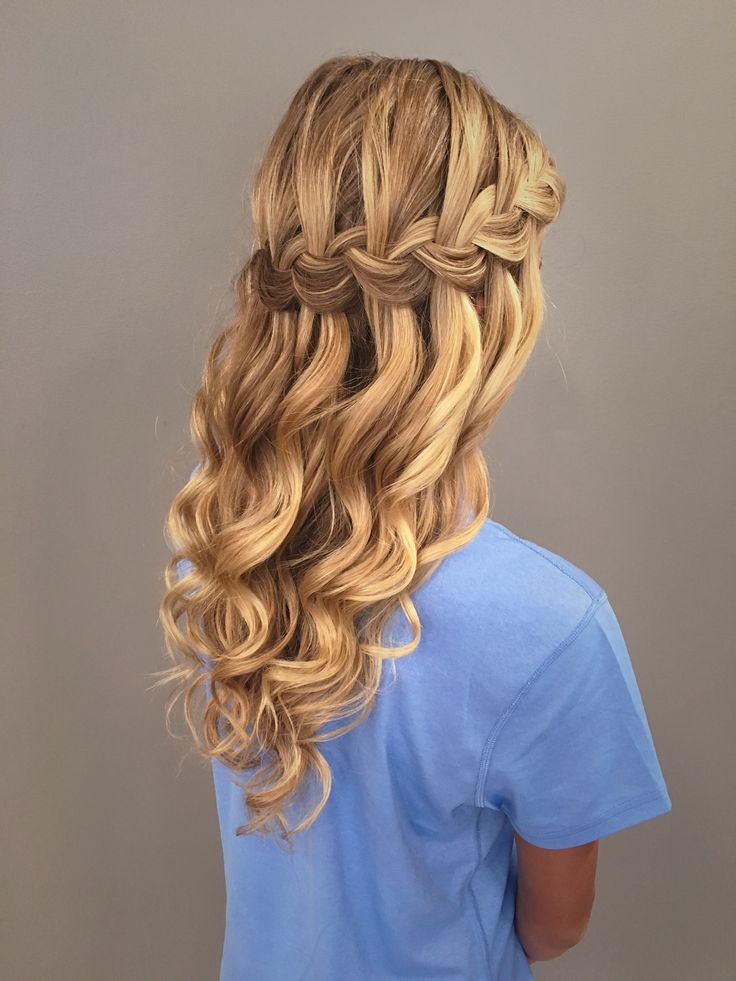 16 Waterfall Braid Hairstyles For Your Beautiful Locks - Haircuts & Hairstyles 2018