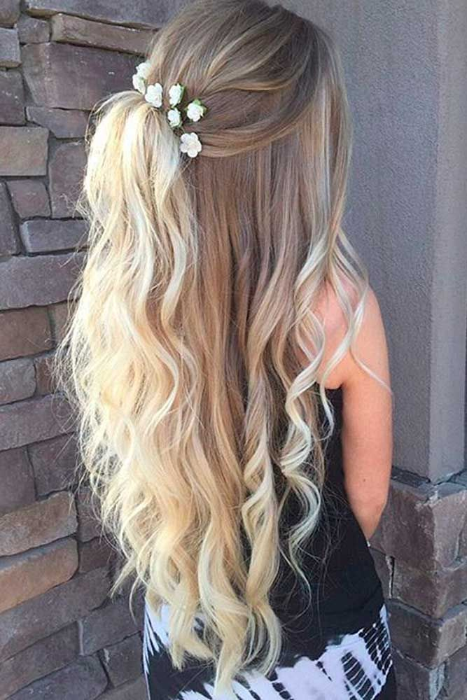15 Homecoming Hairstyles for Long Hair To Glam Your Look - Haircuts ...