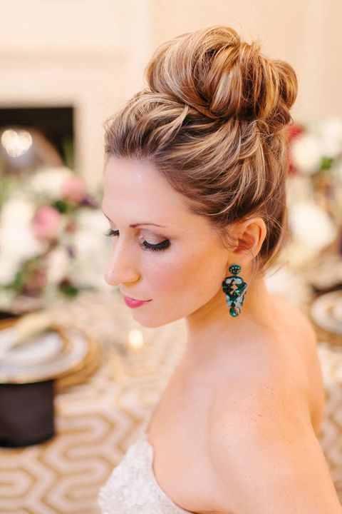 Bridal Top Knot