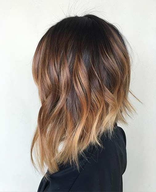 Sun Kissed Inverted Bob