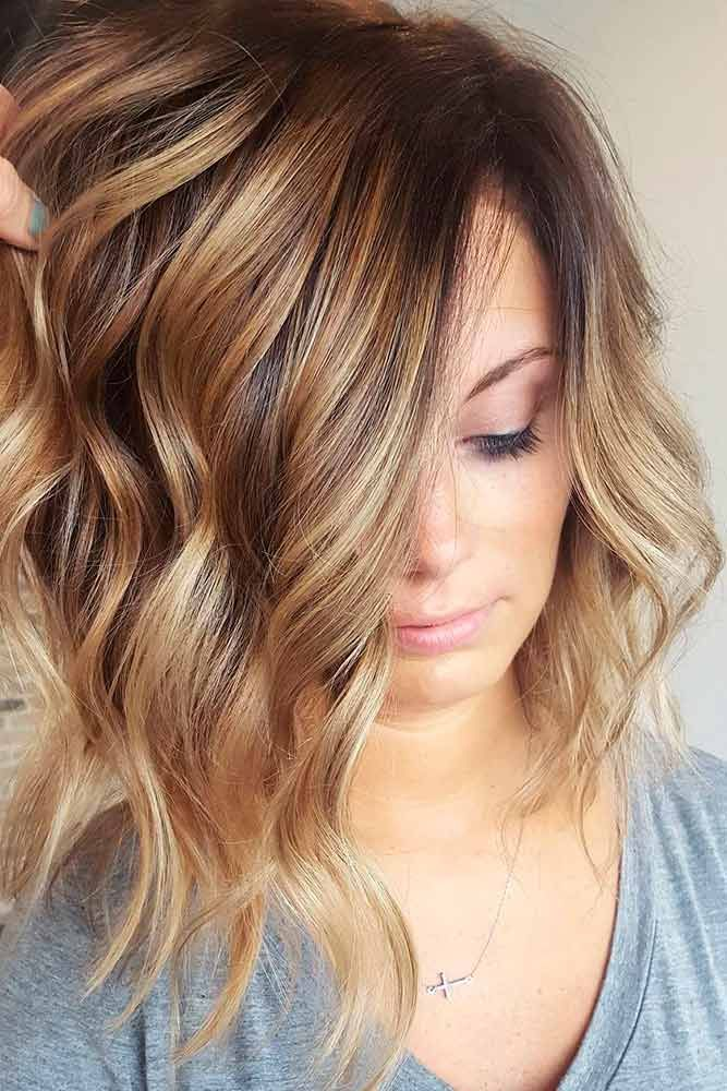 Light Brown Hair with Highlights