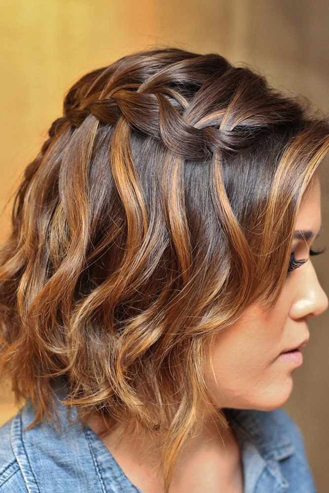 16 Waterfall Braid Hairstyles For Your Beautiful Locks