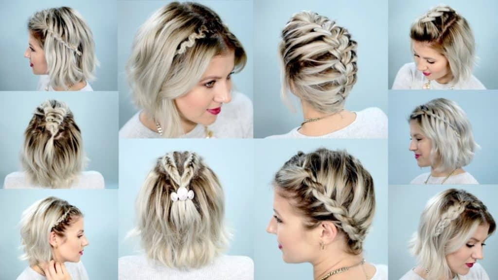 17 Braided Hairstyles For Short Hair U2013 Look More Beautiful With This  Haircuts