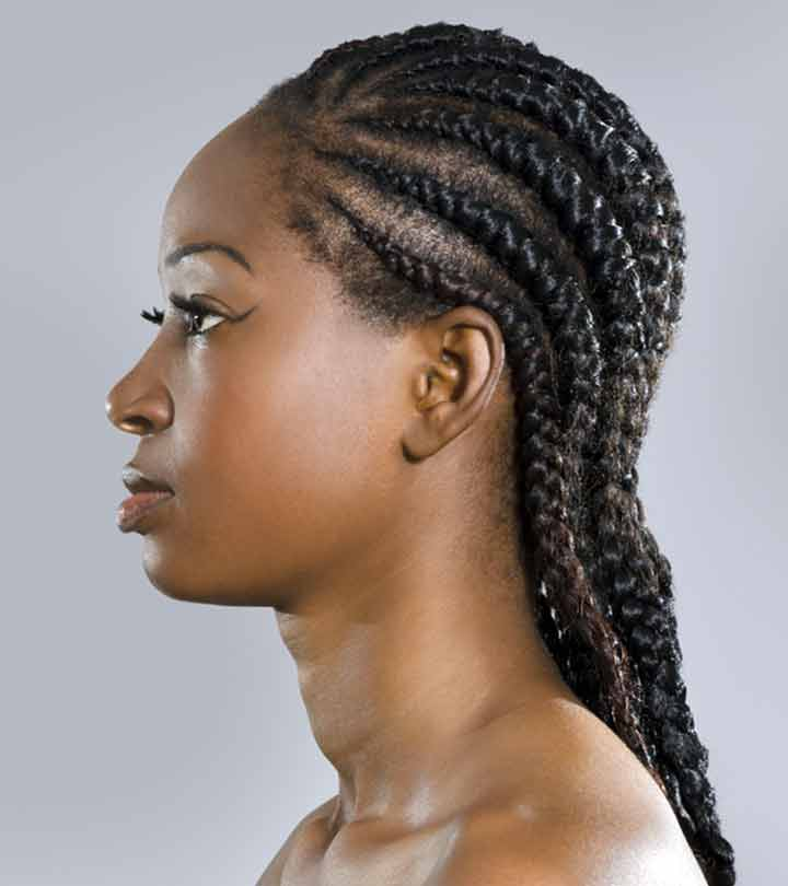 Cornrow Braids Hairstyle