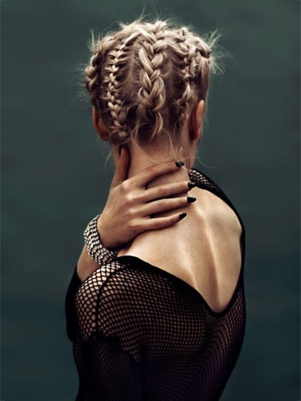 Short Cornrows Hairstyle
