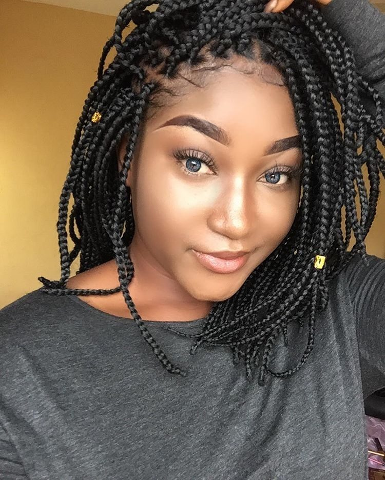 Cornrow Bob Hairstyle