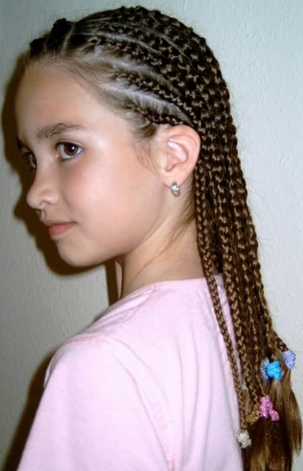 Cornrows Hairstyle for Kids