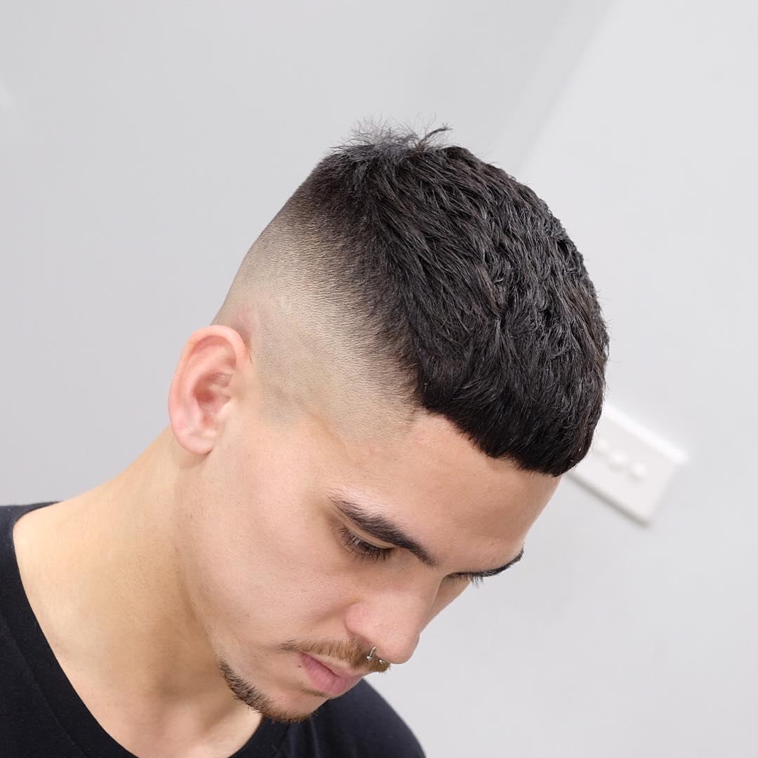 Haircut men summer