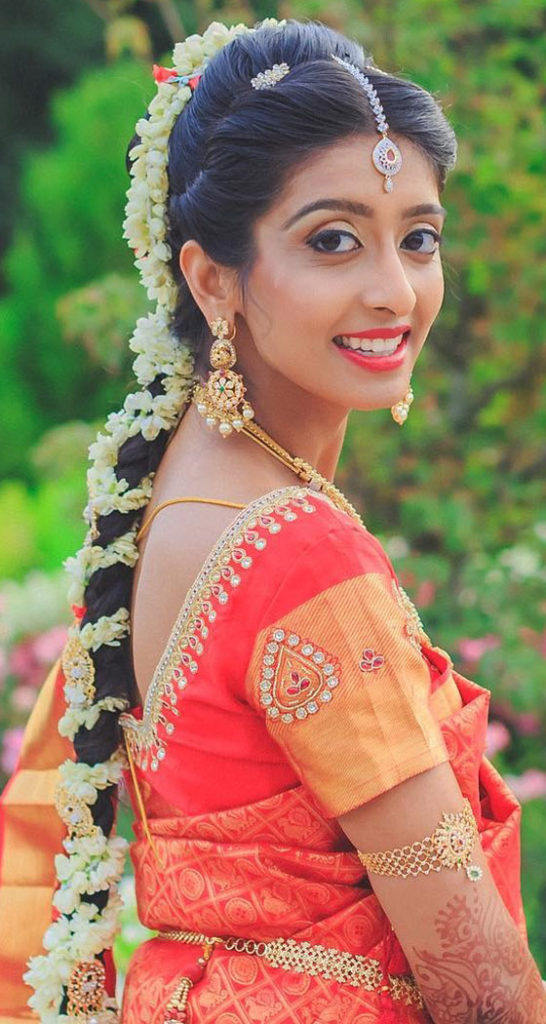 Traditional Gajra Hairstyle