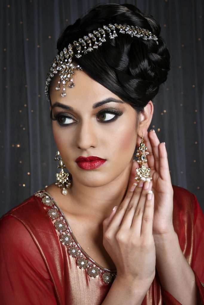 Indian Beehive Hairstyle
