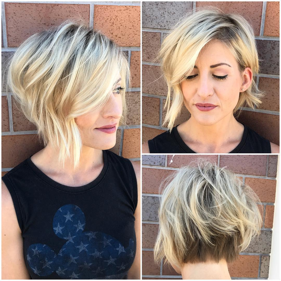 15 Eye Catching Asymmetrical Bob Hairstyles For Women - Haircuts & Hairstyles 2018