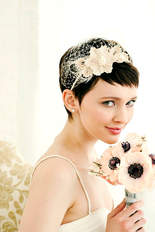 Short Hairstyle for Wedding