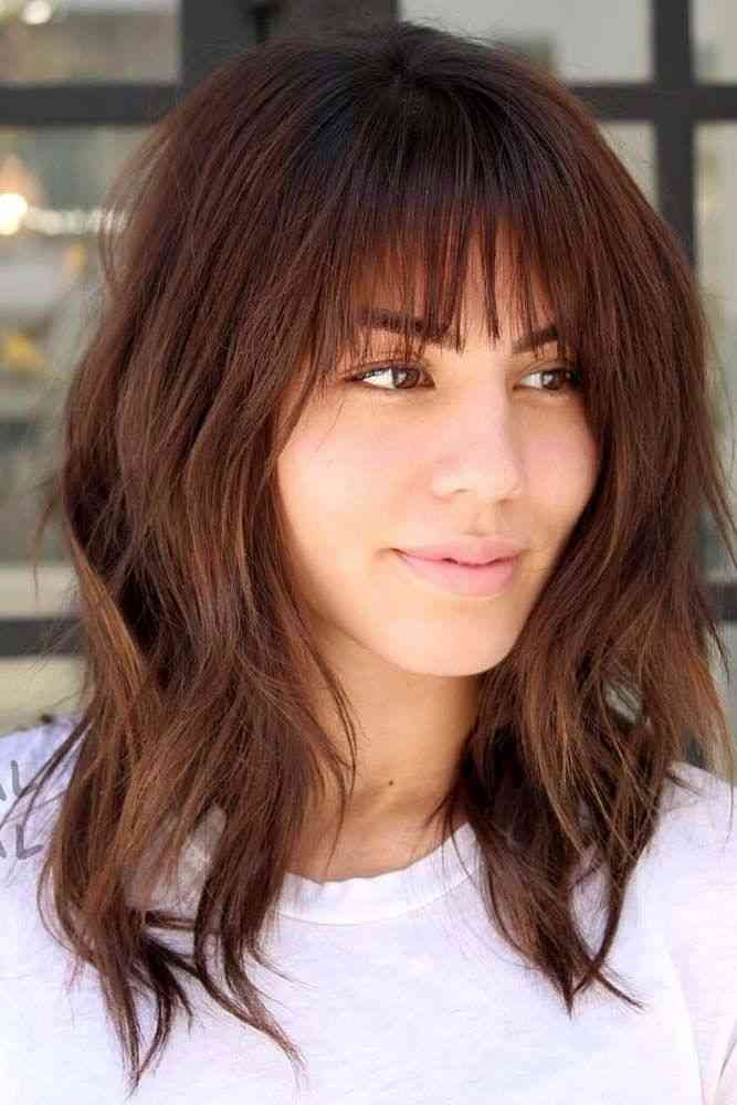 25 Latest Medium Hairstyles With Bangs For Women ...