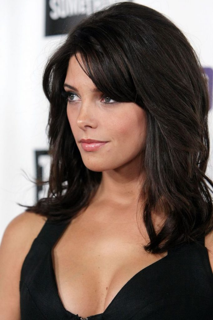Layered Black Hairstyle