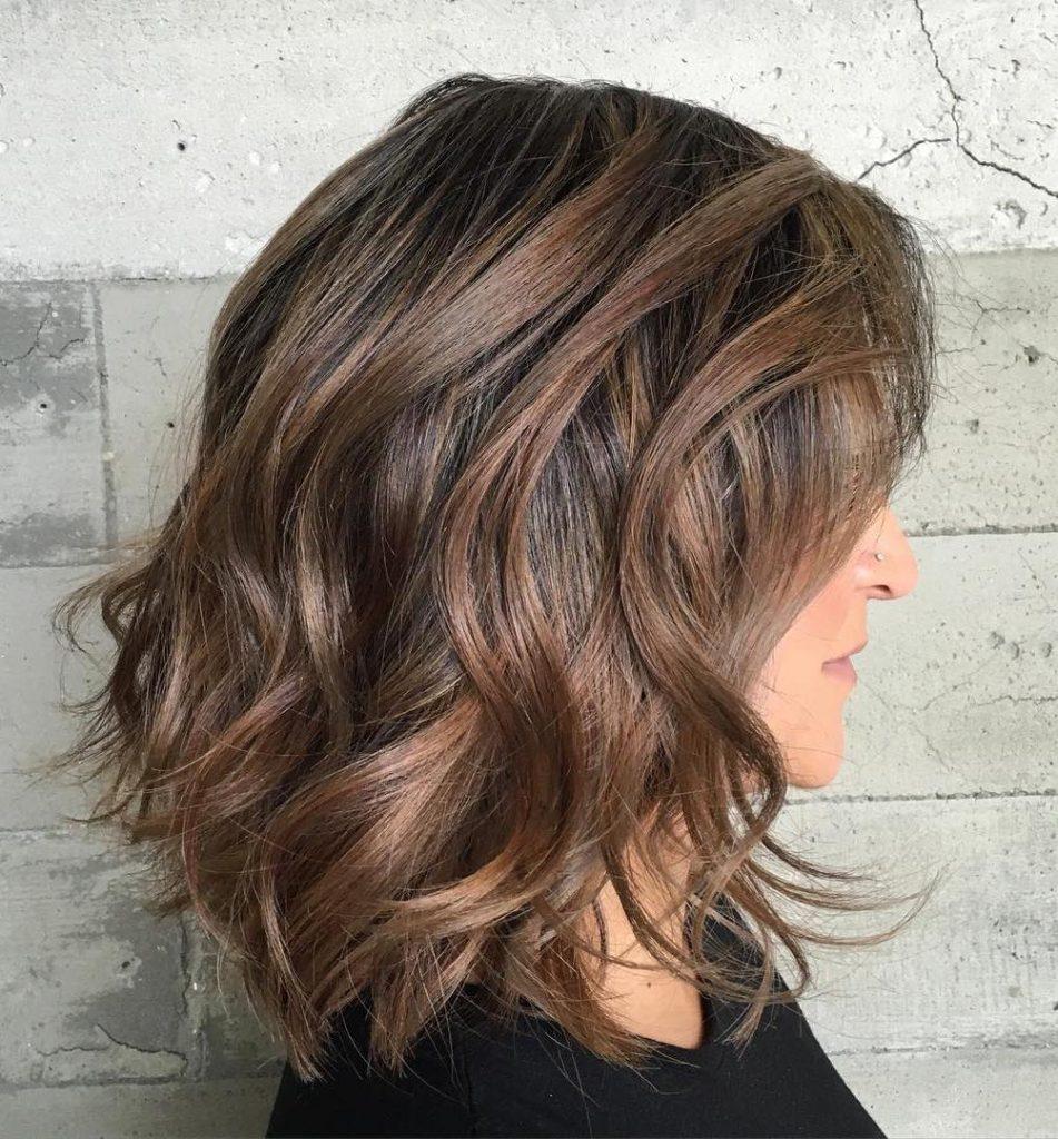 Hairstyle for Medium Wavy Hair