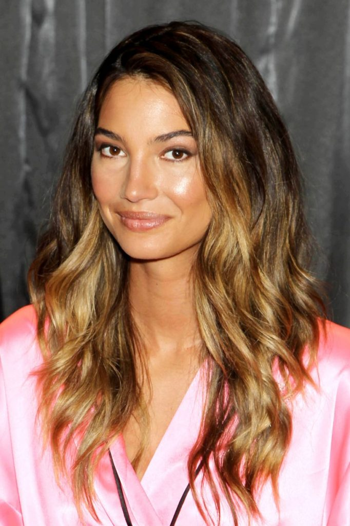 Ombre Long Wavy Hair