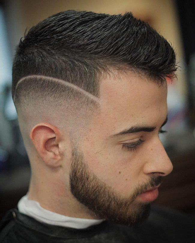Widows Peak Hairstyles for Men