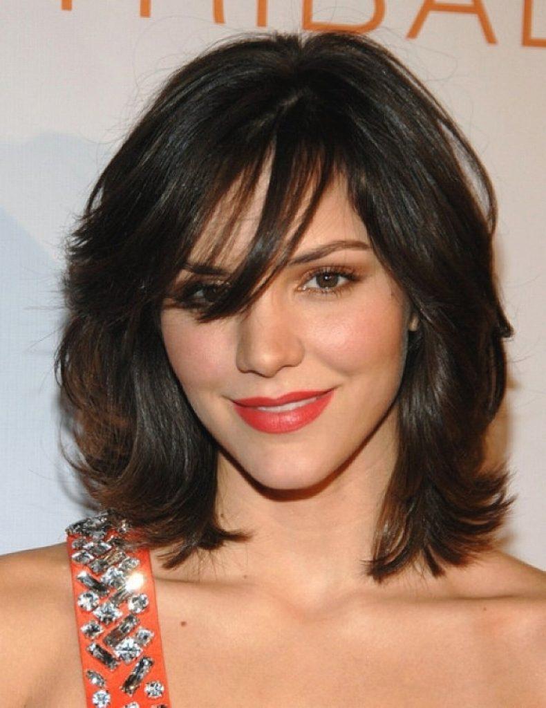 Medium Length Haircut for Thick Hair