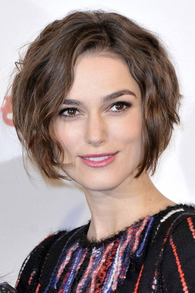 Short Wavy Haircut