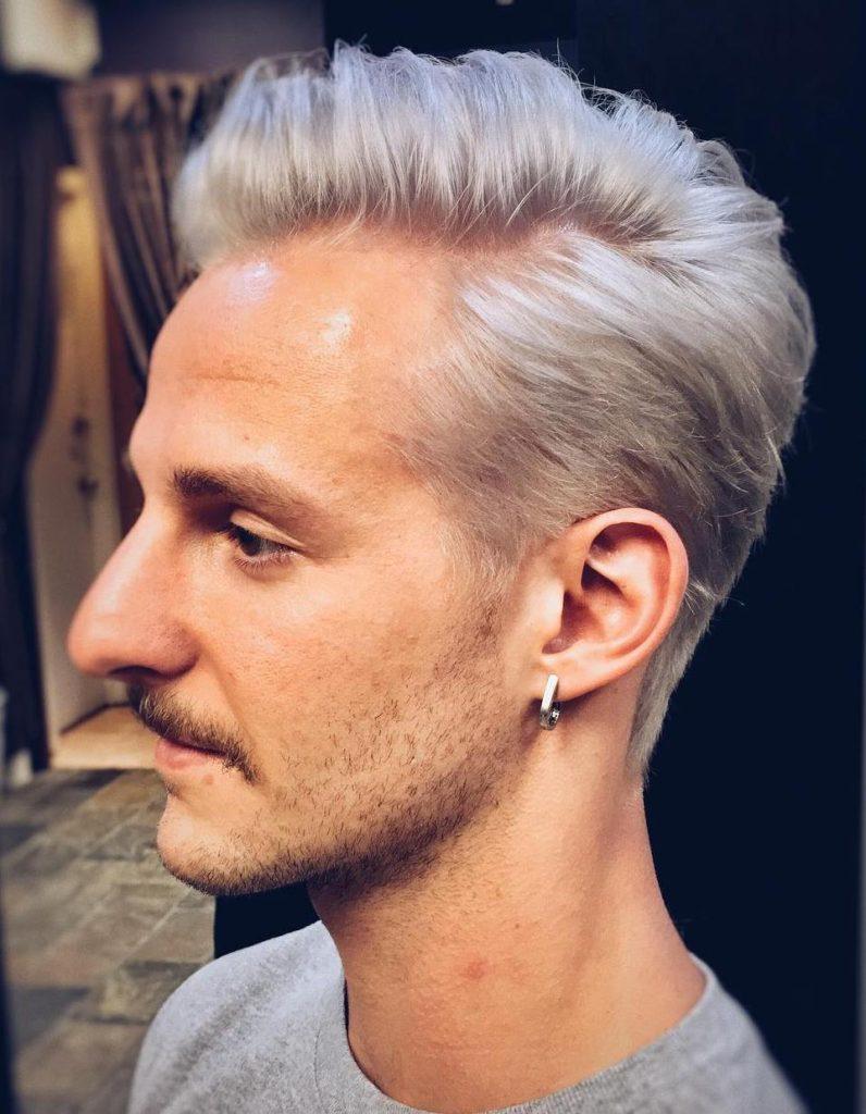Platinum Silver Hair