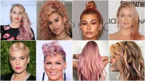 20 Rose Gold Hair Color Ideas for Women