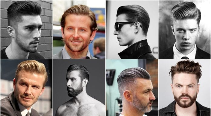 Slicked Back Hairstyles for Men