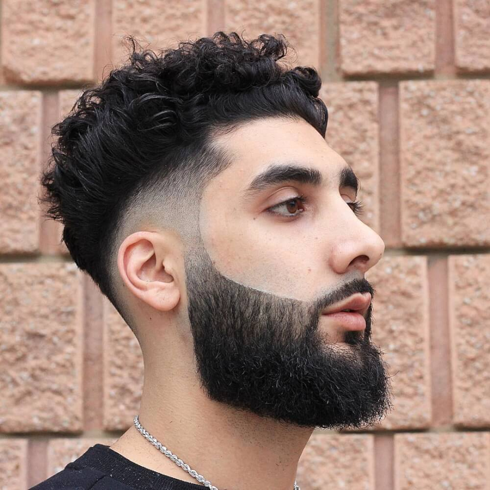 Mens Hairstyle for Curly Hair