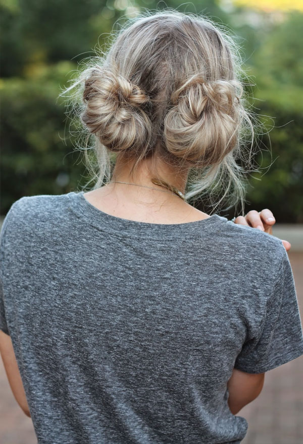 Two Low Buns