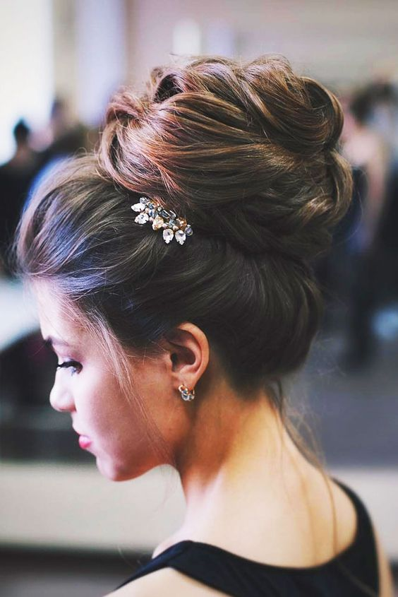 Wedding Bun Hairstyle