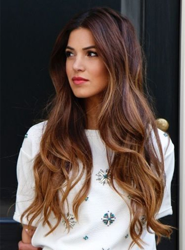 30 Most Stylish and Worth Trying Long Brown Hair - Haircuts ...