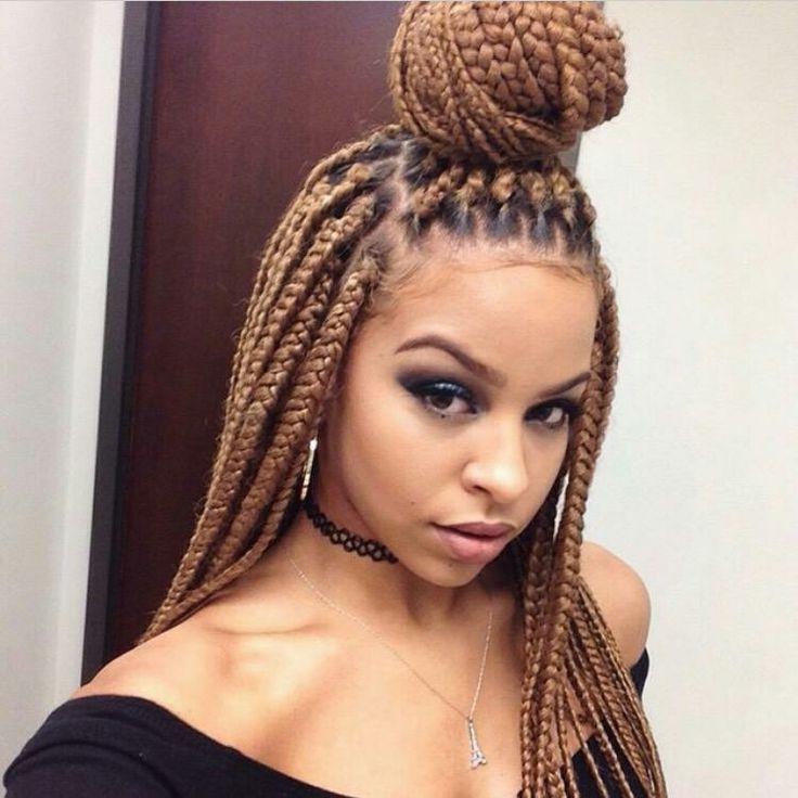 Box Braid Hairstyles