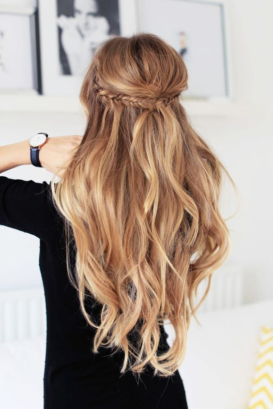 1. Simple Hairstyles for Long Hair