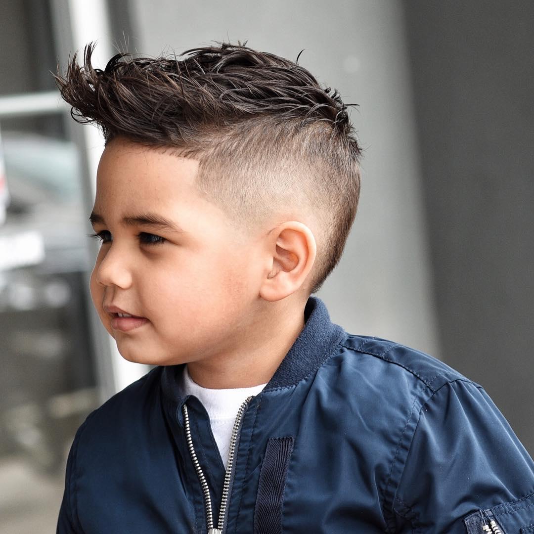 2. Textured Spiky Hair with Undercut