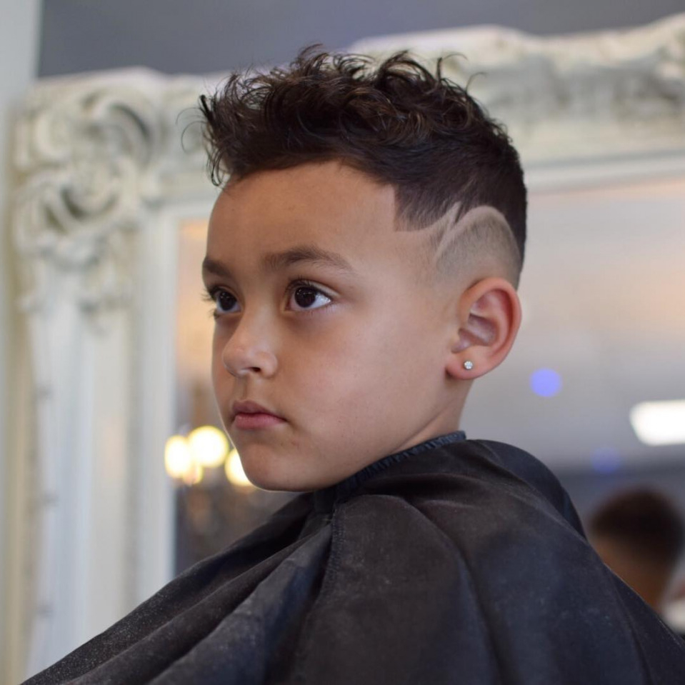 Funky Haircut for Boy