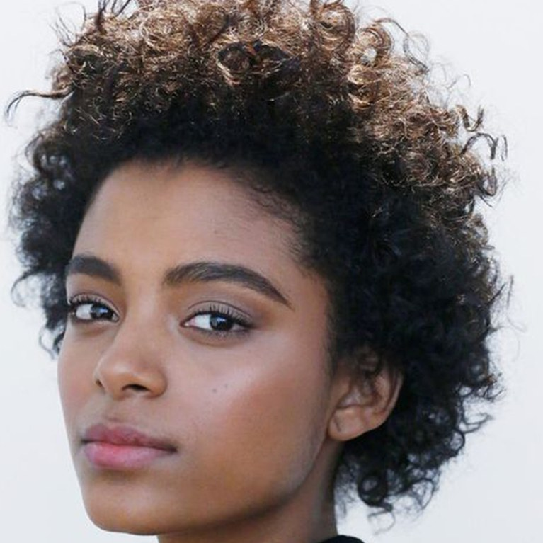 13. Short Curly Hairstyle for Black Women
