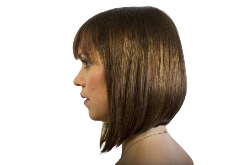 Blunt Cut Hairstyle