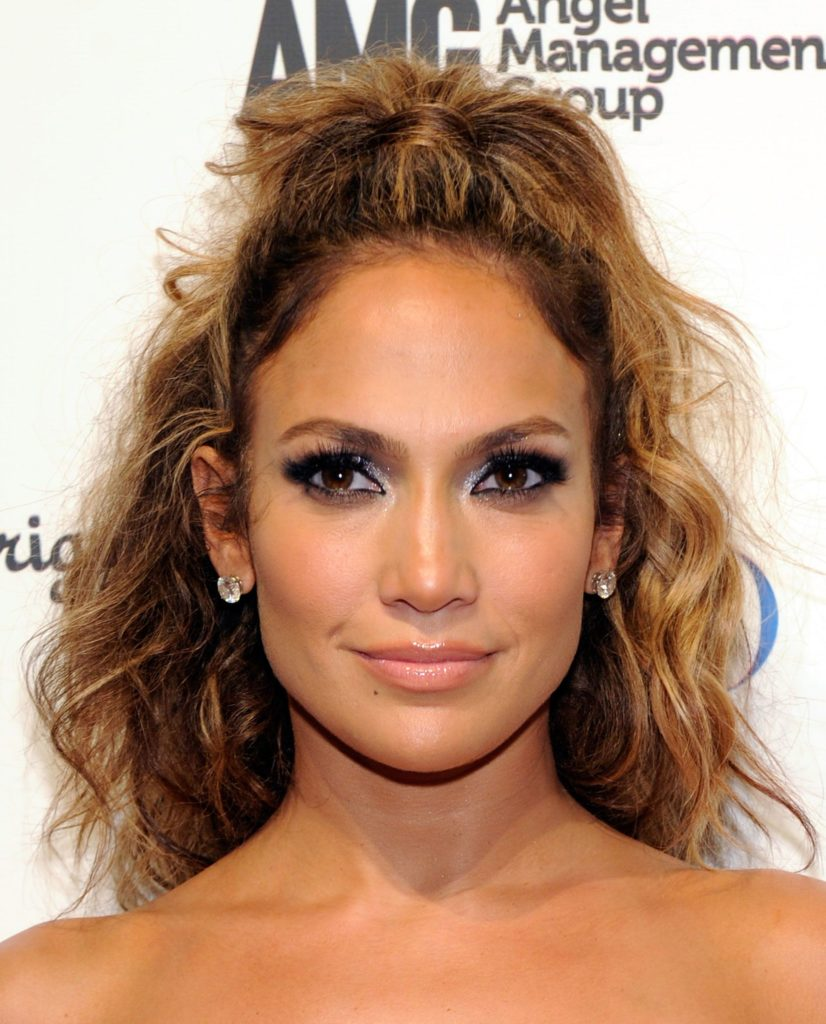 19. Knotted Curly Hair