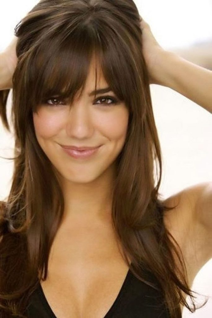 25. Hairstyle with Bangs