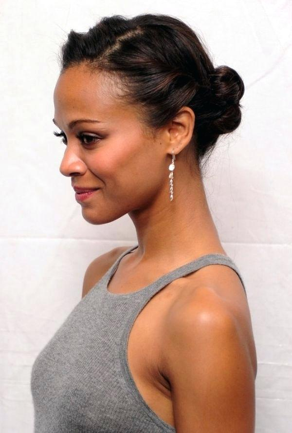 30. Simple Wedding Hairstyle