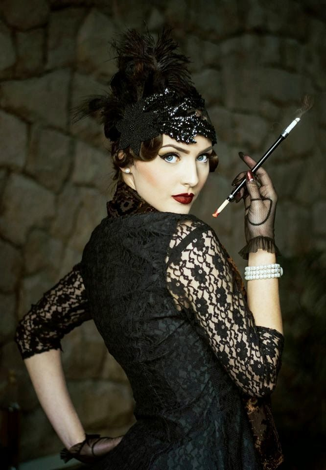 34. Flapper Girl Hairstyle